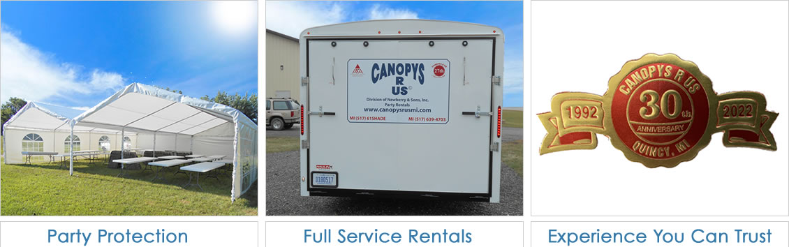 Canopies for Rent in Quincy